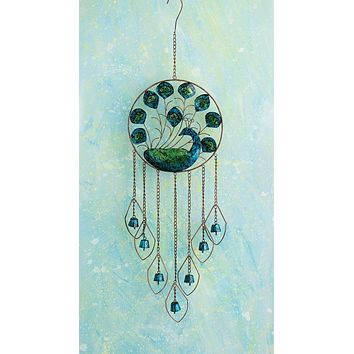 Peacock Wind Chime - New item!