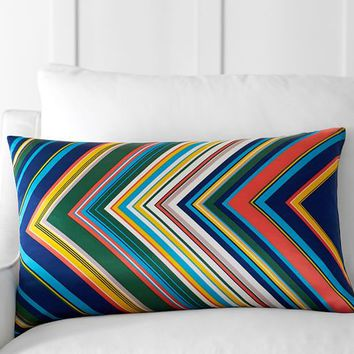 Tamara Stripe Lumbar Pillow Cover