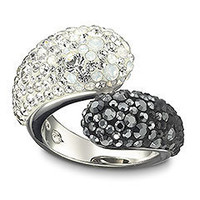 Jewelry  - Rings - Louise Black and White Ring