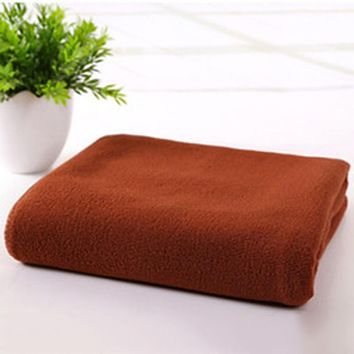 """Multiple Colors -  High Quality Quick Drying Microfiber Towels for Curly Hair Method """"Plopping"""""""