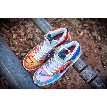 nike dunk sb high what the 918321 381
