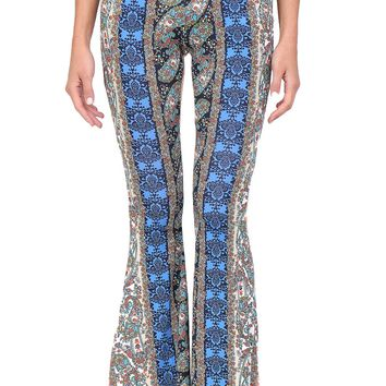 Multicolor Paisley Pants at Blush Boutique Miami - ShopBlush.com : Blush Boutique Miami – ShopBlush.com