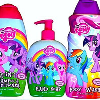 My Little Pony Shower Set