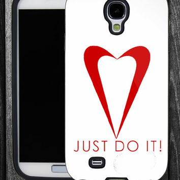 Nike Just Do It-IPhone 5 case,IPhone 4,4S,Samsung Galaxy S2 i9100,Samsung S3 i9300,Samsung S4 i9500-B-2162013-12