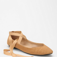 Kimchi Blue Sweetheart Ankle-Tie Skimmer