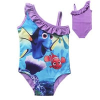 2016 Swim Vest Finding Nemo Finding Dory Swimsuits For Children Bikinis