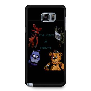 Five Nights At Freddy S Fan Made Picture Samsung Galaxy Note 5 Case
