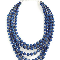 ModCloth You Bijou Necklace in Sapphire