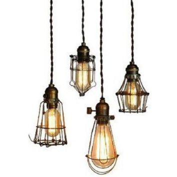 The Steampunk Home: Wire Cage Lights - Polyvore