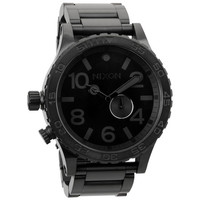 Nixon The 51-30 Tide Watch All Black One Size For Men 15730317801