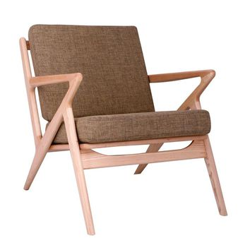 Jet Accent Chair OLIVE GREEN - NATURAL