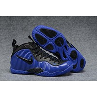 Air Foamposite Pro Royal Blue/Black Shoe Size 40-47