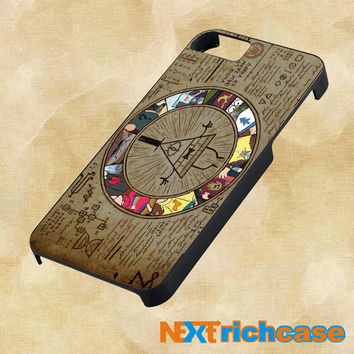 Gravity Falls Map for iphone, ipod, ipad and samsung galaxy case