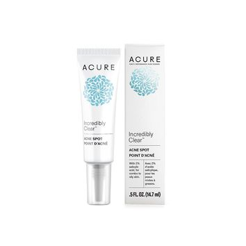 Acure Incredibly Clear Acne Spot - 0.5 oz