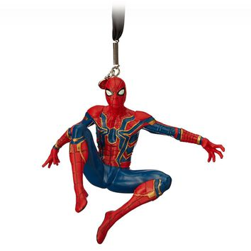 Disney 2018 Spider-Man Infinity War Sketchbook Christmas Ornament New with Tag