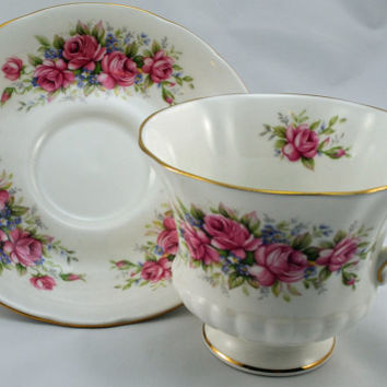 Cup and Saucer, Collectible Set, Paragon Fine Bone China, Made in England (3)