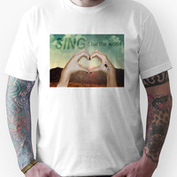 SING it for the world Unisex T-Shirt