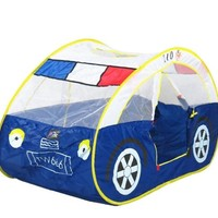 Kids Adventure Play Tent [ Patrol Car Type ] Children House Indoor Outdoor