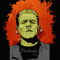 Frankenstein Tattoist Art Print by Vanesa Abati