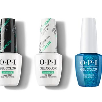 OPI - GelColor Combo - Base, Top & Nessie Plays Hide & Sea-k