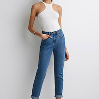 High-Rise Mom-Fit Jeans