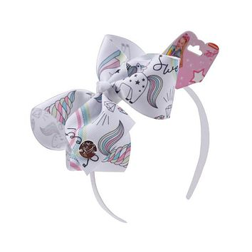 Children Unicorn Big Bow Headband