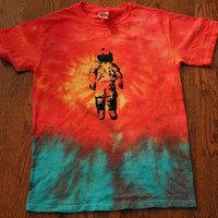 Brand New Deja Entendu Tie Dyed Screen Printed by Heartificial
