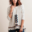 Campfire Fringe Sweater By Chaser