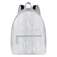 Vegan Python Effect Backpack by Maison Margiela