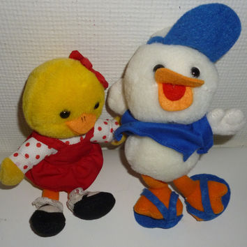 Suzy's Zoo Suzy Ducken And Jack Quaker Plush Set