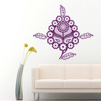 Wall Decals Egypt Egyptian Culture Patterns Flora Flower Ancient Eastern Art Bedroom Living Any Room Vinyl  Sticker Home Decor Mural  ML150