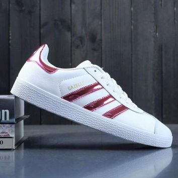 One-nice™ Adidas Fashion Reflective Originals Superstar GAZELLE City Pack Casual Sport Sneaker Red I-A0-YFY