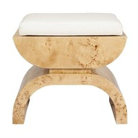 Biggs Burl Stool