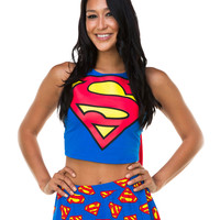Supergirl Tank with Cape – Spirit Halloween