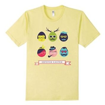 Cool Happy Hipster Easter Eggs Mustache Glasses Shades Hat