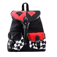 Satchel Suicide Squad DC Comics Harley Quinn Knapsack Backpack School Bag