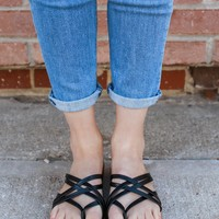 Dreamcatcher Sandals - Black