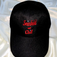 SWEET LORD O'MIGHTY! SEINFELD AND CHILL CAP