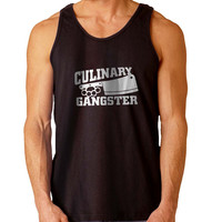 Culinary Gangster Chef prep Cook food For Mens Tank Top Fast Shipping For USA special christmas ***