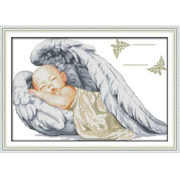 Little Angel - Counted Cross Stitch Kit