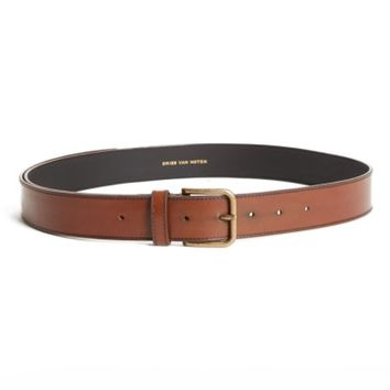 Dries Van Noten Leather Belt | Nordstrom