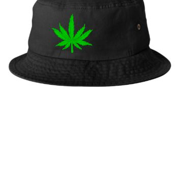 MARIJUANA LEAF Bucket Hat