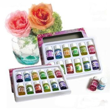 Water-soluble Essential Oils for Aromatherapy with 12 Fragrance