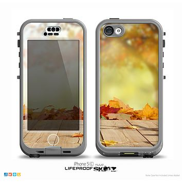 The Dreamy Autumn Porch Skin for the iPhone 5c nüüd LifeProof Case