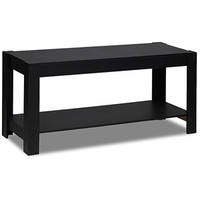 Walmart: Furinno 12125BK Parsons Entertainment Center TV Stand/Coffee Table