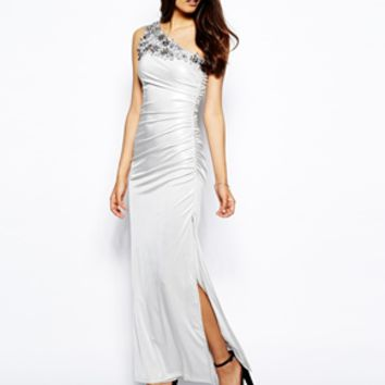 Jessica Wright Aurelia VIP Maxi Dress - White