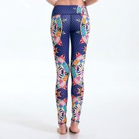 Boho Fitness Yoga Leggings