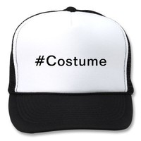 Hashtag costume hats from Zazzle.com
