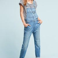 AG Leah Straight Cropped Overalls