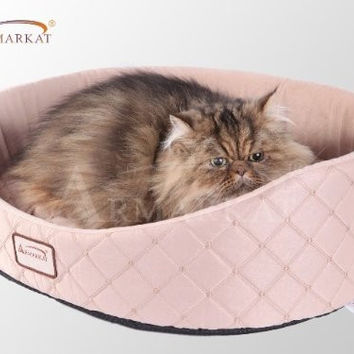Armarkat Cat Bed Light Apricot